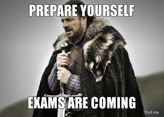 Be Prepared!!!