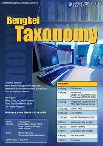 Bengkel Taxonomy Perpustakaan Digital Tan Sri Dr. Abdullah Sanusi