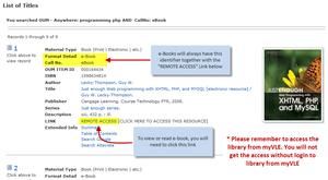 e-Book Search Example