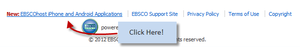EBSCOhost Apps Authentication